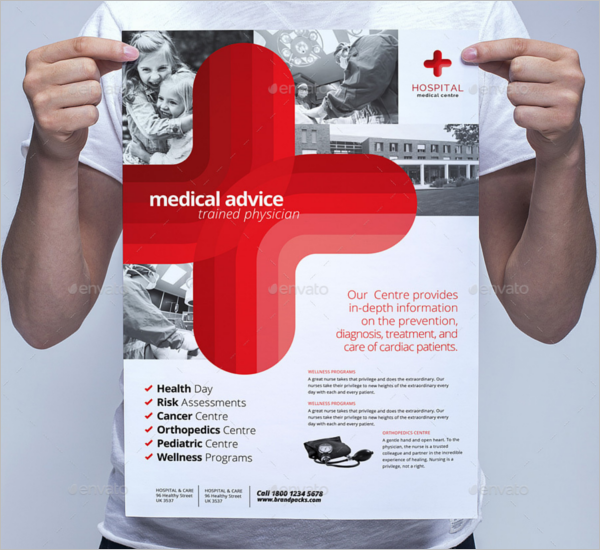 Medical Poster Template PSD