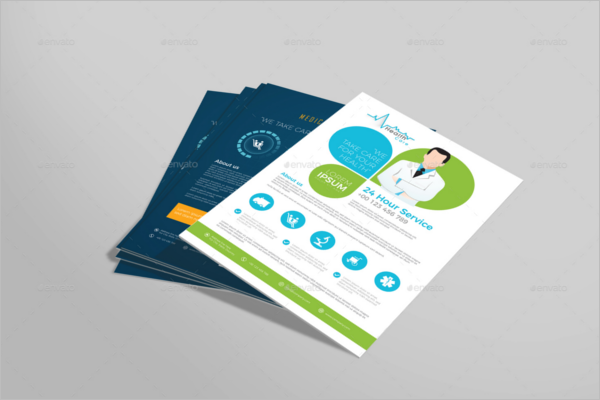 Medical Research Flyer Template