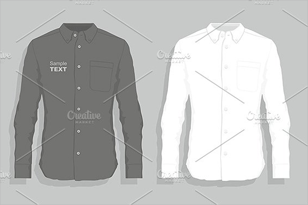Men's Dress Design Template
