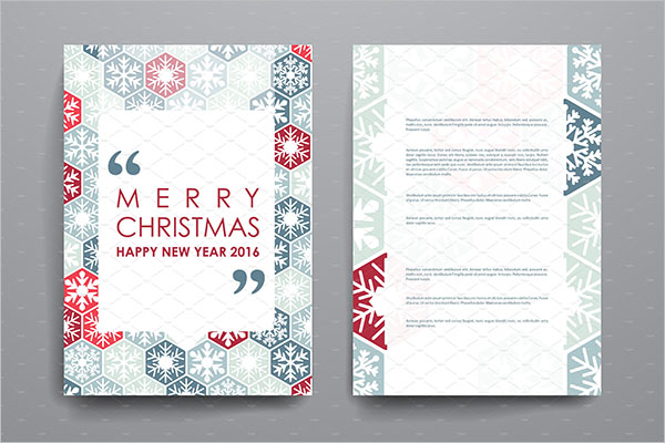 Merry Christmas Brochures