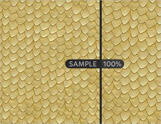 Metal Scales Seamless Texture Design