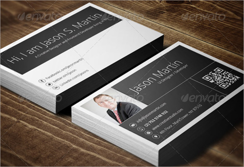 Metro Developer Business Card Template