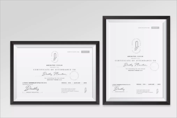 MicroSoft Word Business Certificate Template