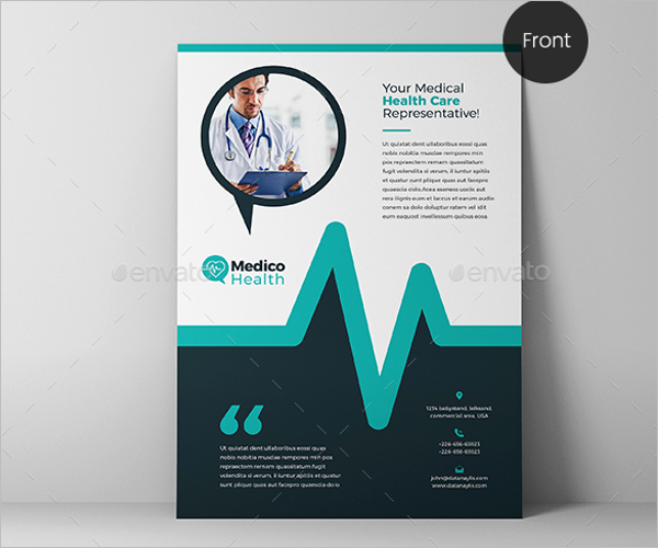 Microsoft Medical Flyer Template