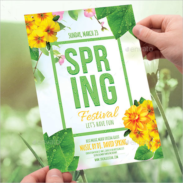 Microsoft Word Spring Flyer Template