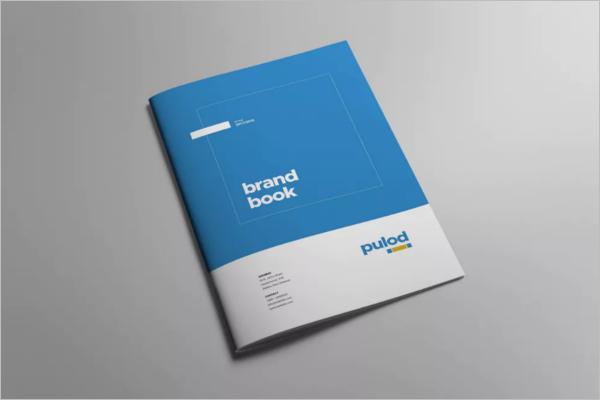 Minimal Brand Book Design