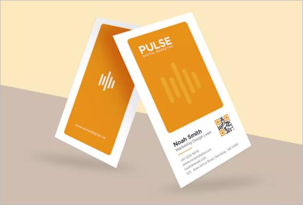 Minimal Marketing Business Card Template