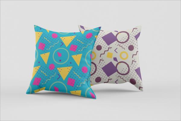 Minimal Pillow Mockup Template