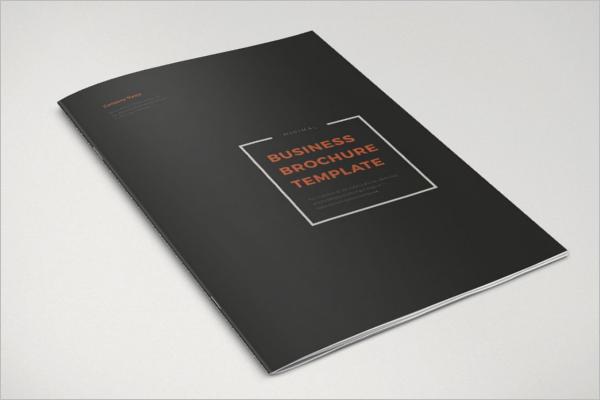 Minimal Retro Brochure Template