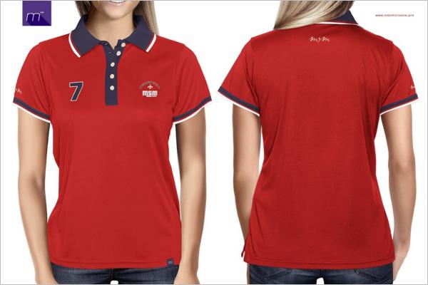 MinimalisticPolo t-Shirt Mockup