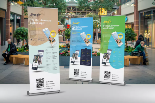 Mobile App Banner PSD Design