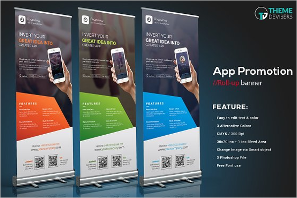 Mobile App Banner Template