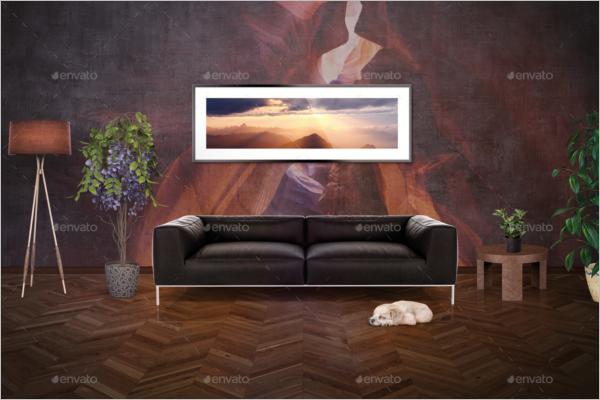 Mockup Interior Design Template