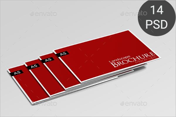 Modern Brochure Mockup Design