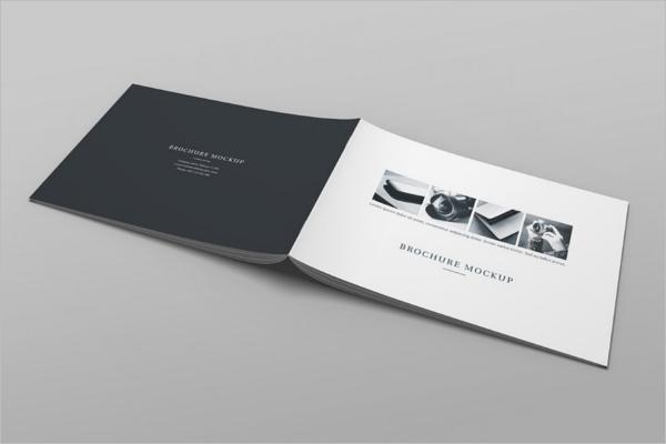 Modern Catalog Magazine Mockup Design
