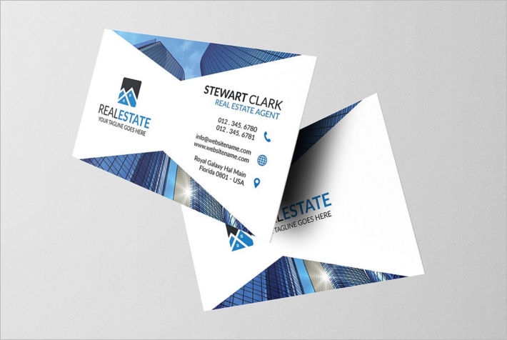 20 construction company business cards free templates modern construction business card template fbccfo Choice Image