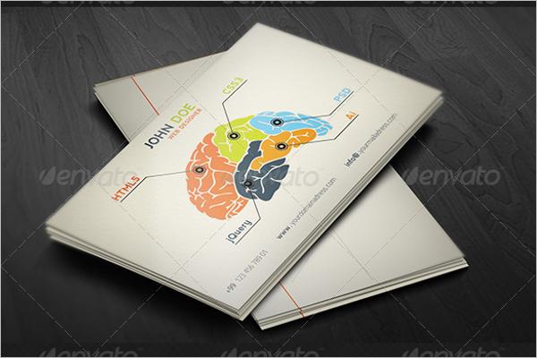 Modern Designer Business Card Template