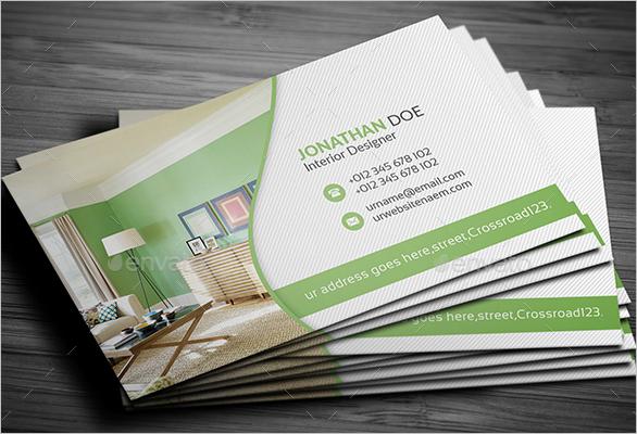 Modern Furniture Business Card Design