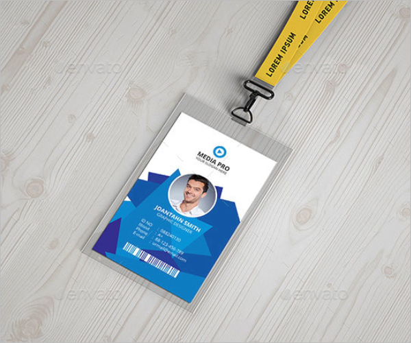 Modern ID Card Template