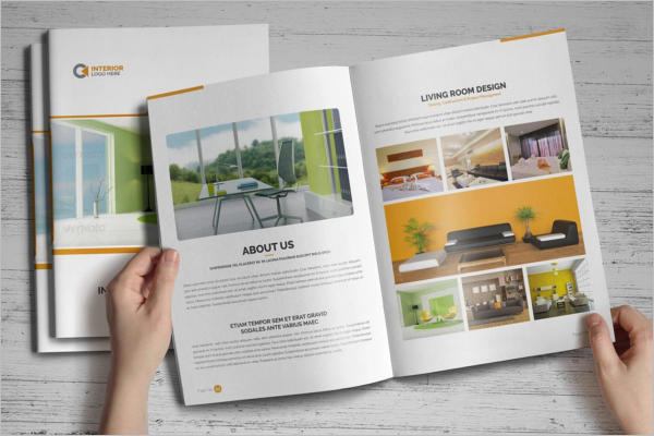 Modern Interior Brochure InDesign