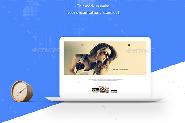 Modern Macbook Mockup