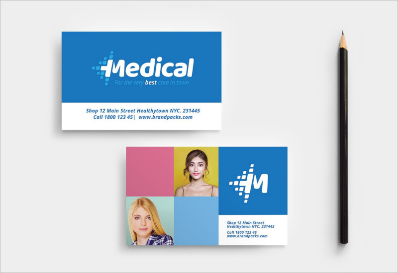 Modern Medical Business Card Design