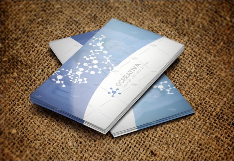 Modern Medical Business Card