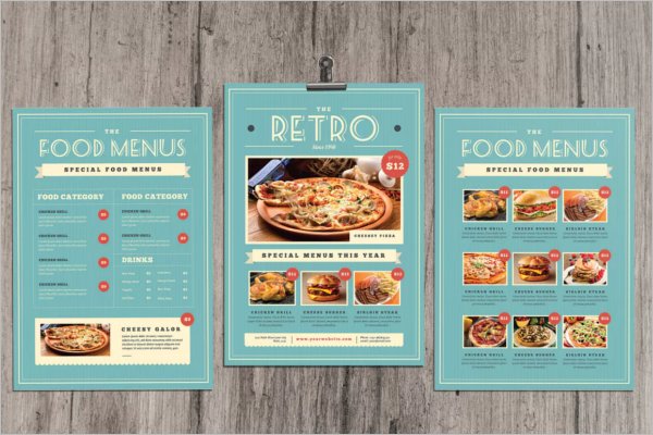 Modern Menu Card Template