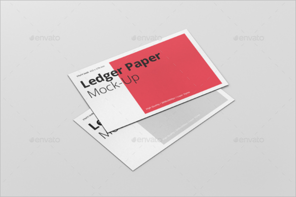 Modern Paper Mockup Design