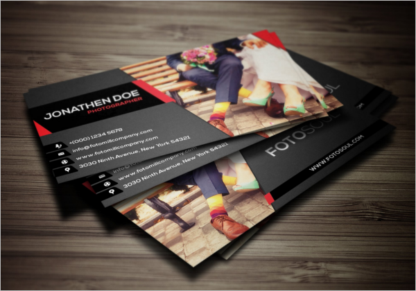 Modern Photography Business Card Design