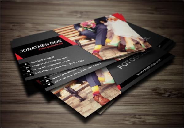 Modern Photography Business Card Design