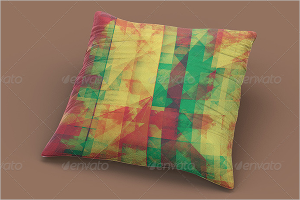 Modern Pillow Mockup Design