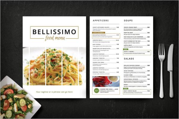 ModernRestaurant Menu Design
