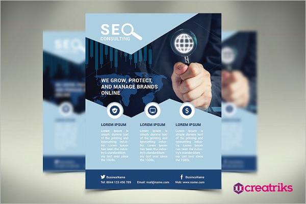 Modern SEO Flyer Template