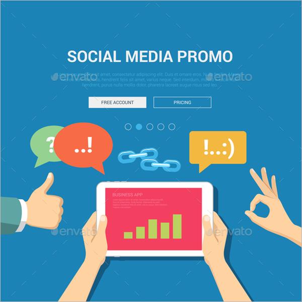 ModernSocial Media Mockup Design