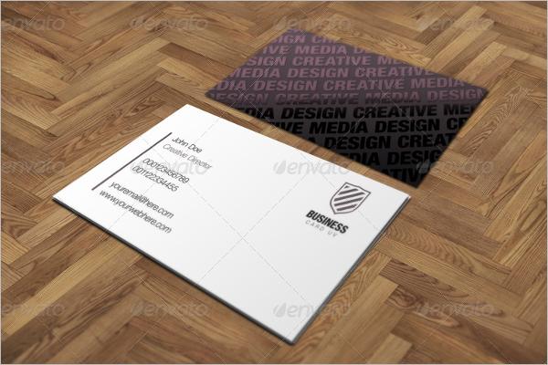 ModernSquare Business Card Template