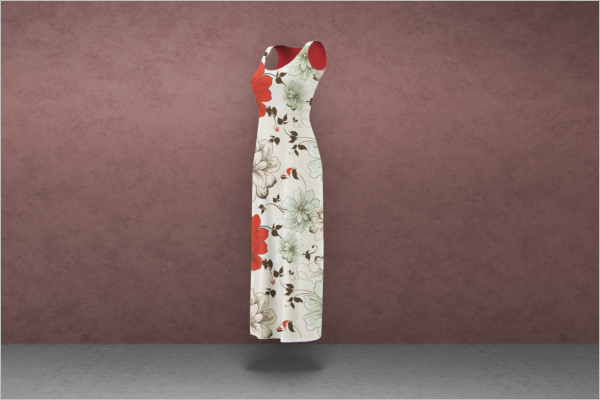 Modern Women Clothing Mockup Design