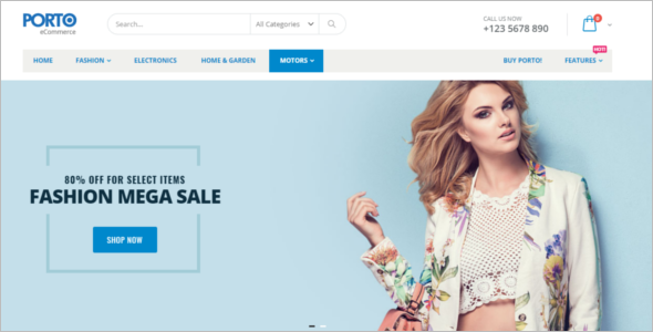 Most Popular Magento Themes