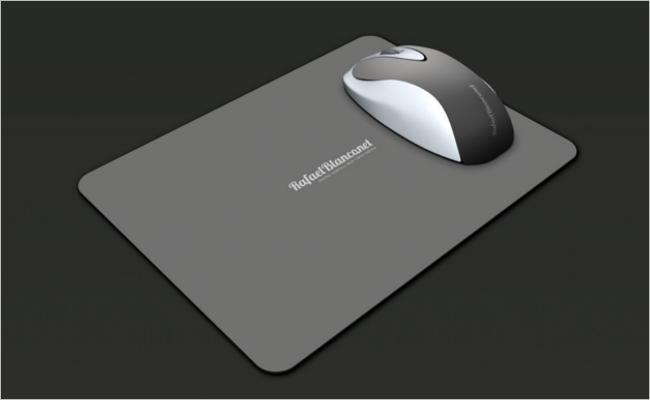 Mouse Pad Mockup Free PSD Design