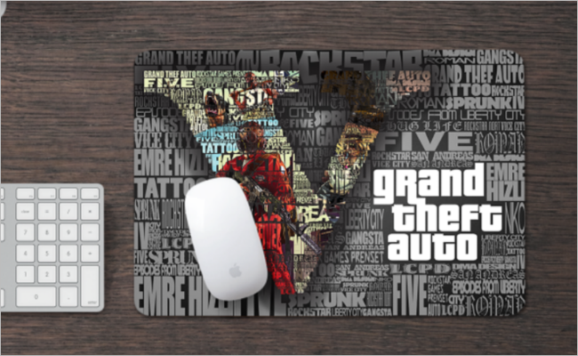 Mouse Pad Mockup Free Vector Design