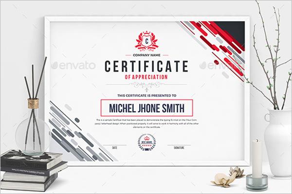 Ms Word Word Certificate Design