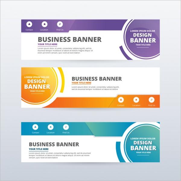 Multi Color Banner Design