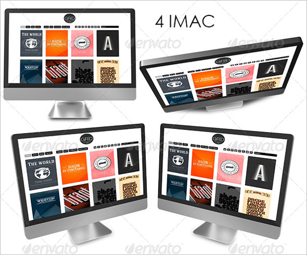 Multi Device Mockup Template