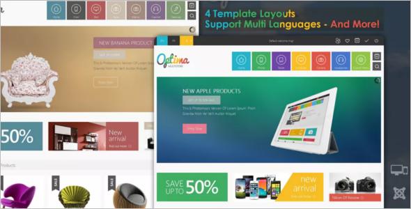 Multi StoreDesign Joomla Template