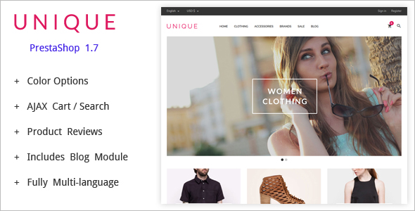 Multi Store Prestashop Theme