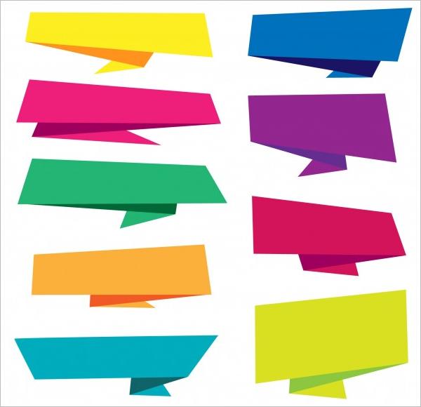 Multicolor Banners Set Download