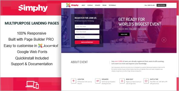 Multipurpose Joomla Design Template