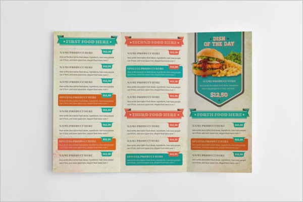 Multipurpose Menu Card Template