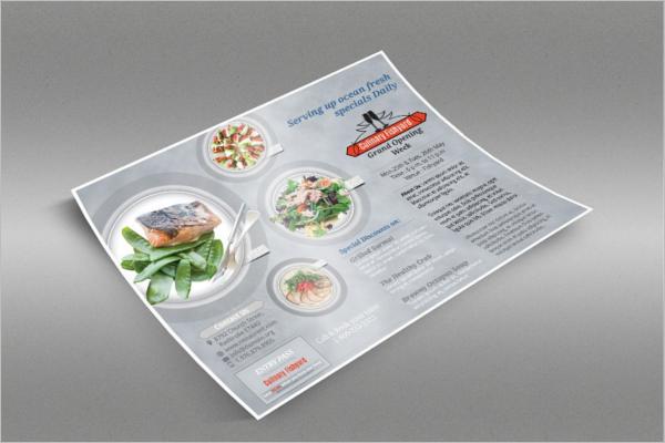 Multipurpose Restaurant Flyer Design Template