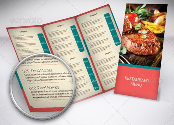 Multipurpose Restaurant Menu Template